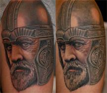 Dachdecker logo tattoo  Tattoo-Bewertung.de