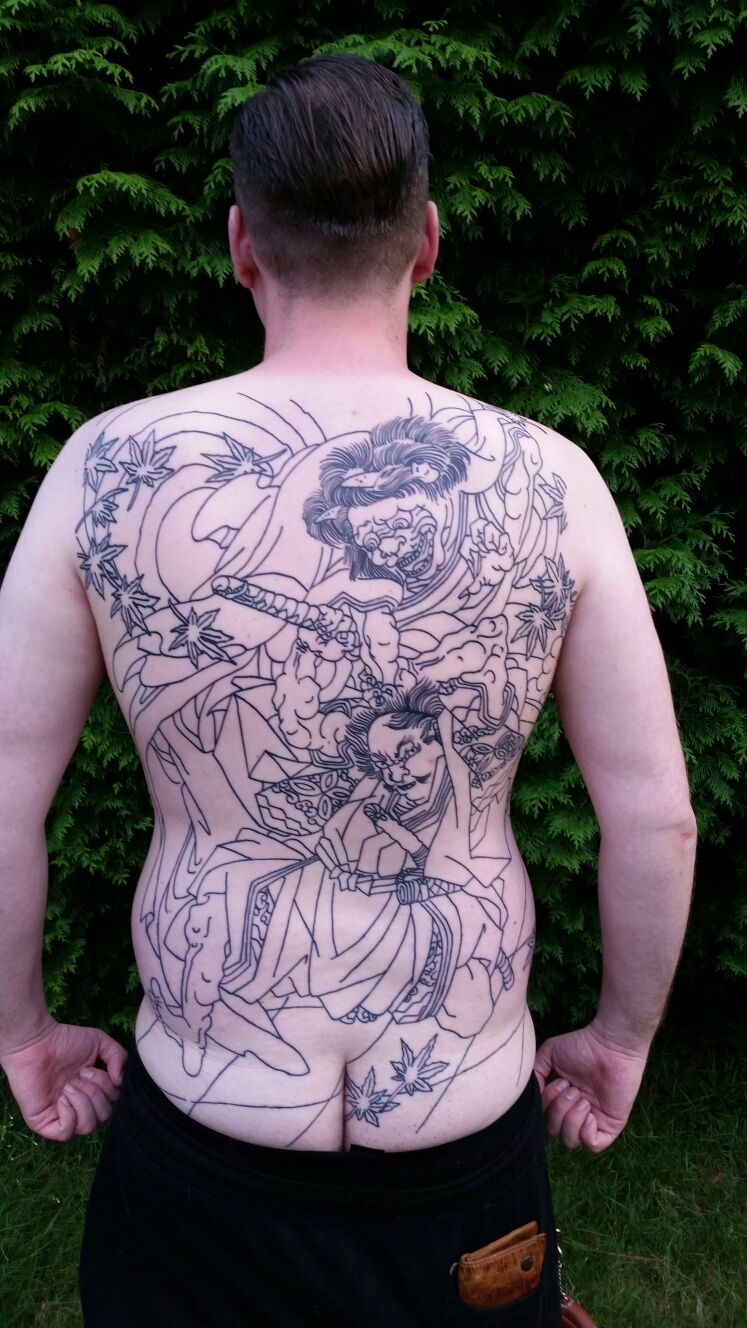 Der Weg Zum Irezumi Tattoo