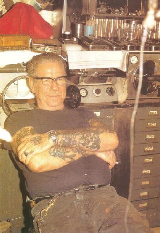 Norman Collins AKA Sailor Jerry