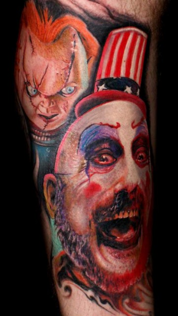 mario hartmann: Chucky, Spaulding