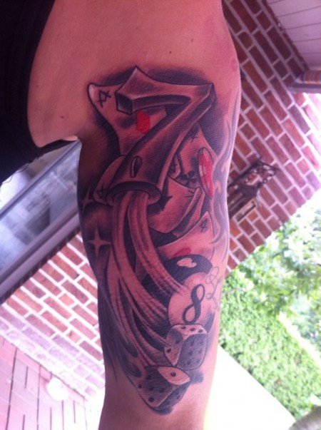 gamble-Tattoo: