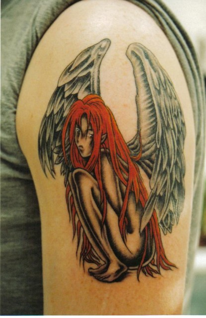 elfen-Tattoo: Manga