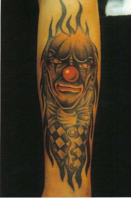 Fieser Clown