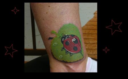 marienkäfer-Tattoo: Mariechenkäfer