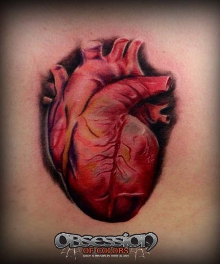 realistisches Herz