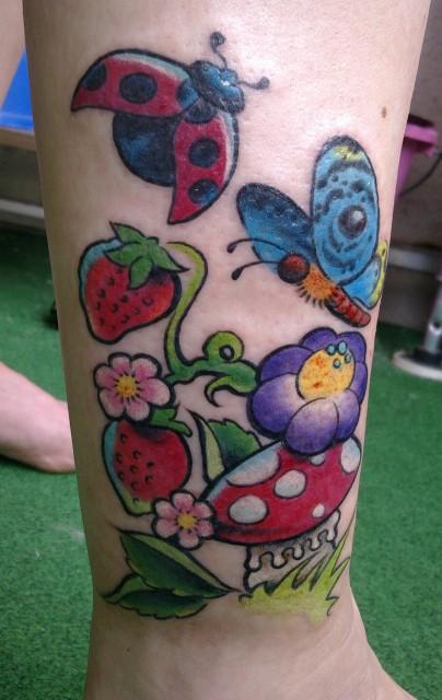 Mein Neu tattoo von heute