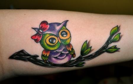 Ruthvanemm Meine Eigene Eule Tattoos Von Tattoo Bewertungde