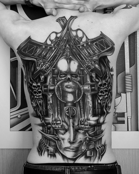 Tribute to HR Giger