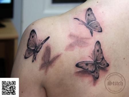 Stitch Mal Ganz Was Seltenes Schmetterlinge Tattoos Von Tattoo