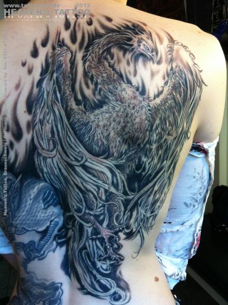 suchergebnisse f r 39 phoenix 39 tattoos tattoo lass deine tattoos bewerten. Black Bedroom Furniture Sets. Home Design Ideas