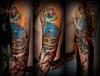 Oldschool Tattoo made by Gast-Artist Ikits Tamàs