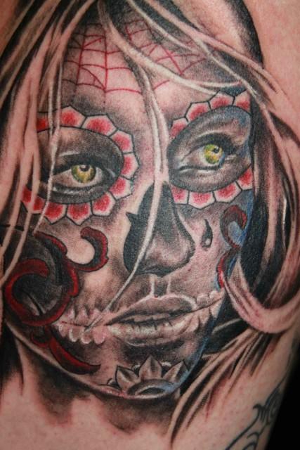 suchergebnisse f r 39 dia de los muertos 39 tattoos tattoo lass deine tattoos bewerten. Black Bedroom Furniture Sets. Home Design Ideas