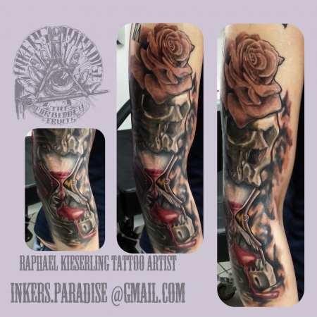 Inkers Paradise 3/4 Skullsleeve part 2
