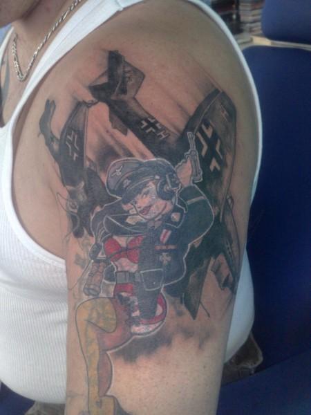Arbeiterklasse Tattoo