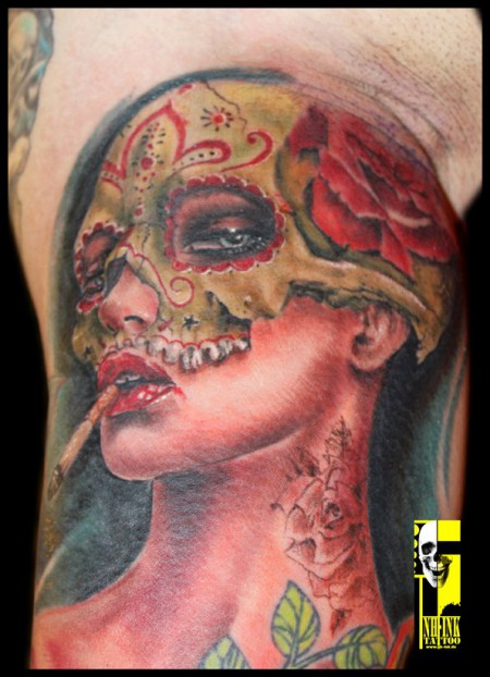 www.nh-ink.de  Judit   Tattooconvention Budapest !!!  Best of Show !!  2011