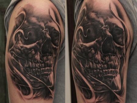 Smokey Skull
