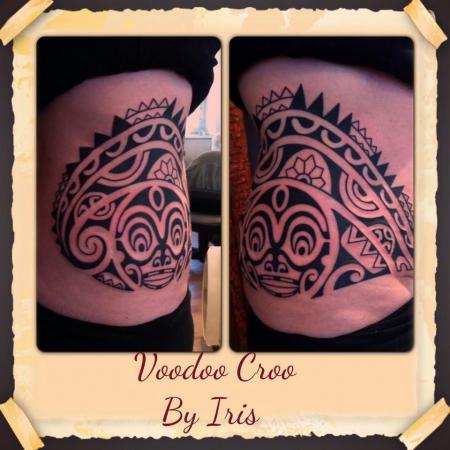 Marquesan Tattoo, polynesisches tattoo, Tiki,
