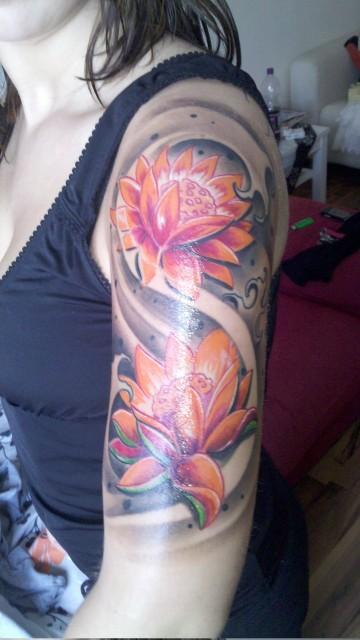 Meine Lotusblumen :-)