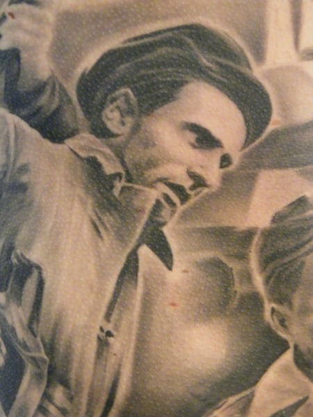 REVOLUTION FOR FREEDOM -  1956 . DETAIL