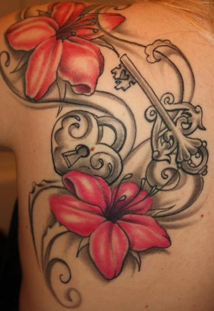 schloss-Tattoo: Das Erste!