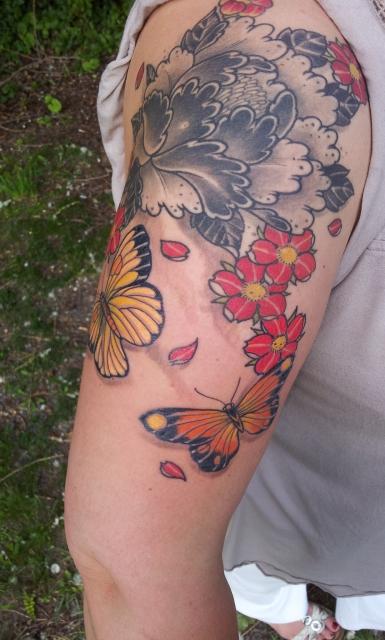 Meine Erweiterung mit Schmetterlingen