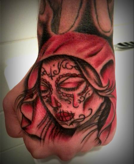 headcrasher666 mexikanische frau tattoos von tattoo. Black Bedroom Furniture Sets. Home Design Ideas