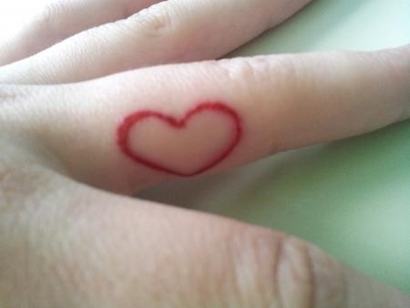 litte, red heart :)