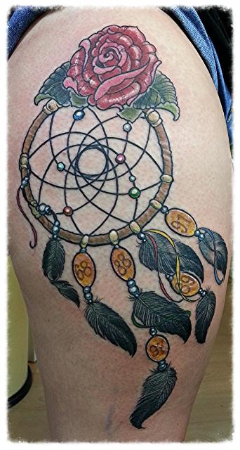 tattoos zum stichwort traumf nger tattoo lass deine tattoos bewerten. Black Bedroom Furniture Sets. Home Design Ideas