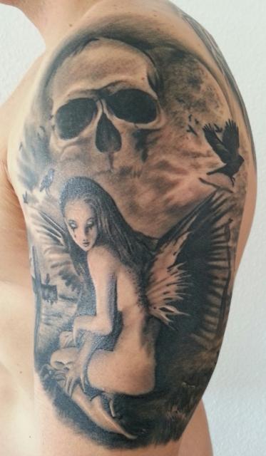 suchergebnisse f r 39 engel 39 tattoos tattoo lass deine tattoos bewerten. Black Bedroom Furniture Sets. Home Design Ideas