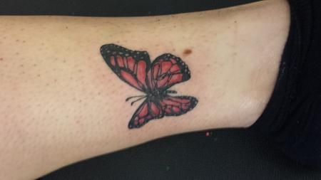 Einfach nur ein Schmetterling