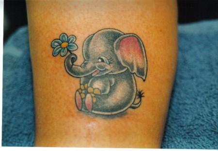 Ein Elefant