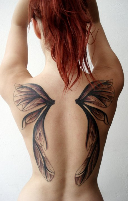Wings tattoo 222