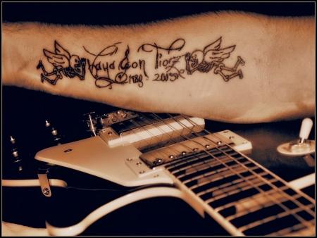 Böhse onkelz engel tattoo