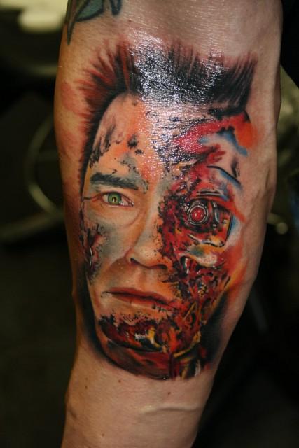 Terminator Portrait Color