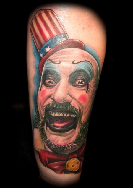 joker-Tattoo: Captain Spaulding
