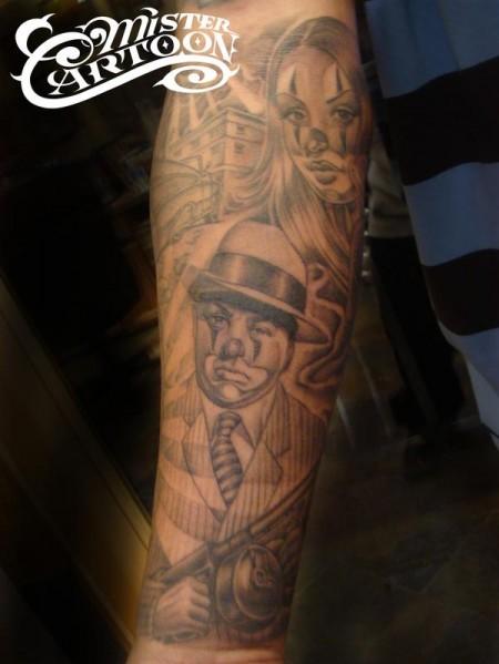 Unterarm Tattoo Chino  !