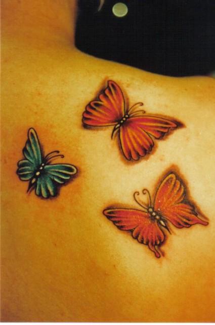 Einfache Schmetterlinge