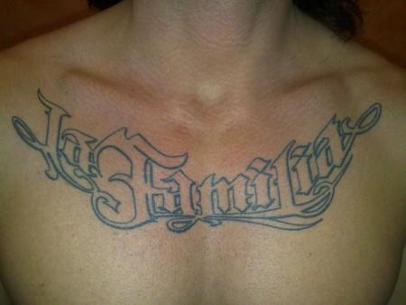 Martl78 La Familia Tattoos Von Tattoo Bewertungde