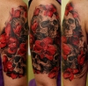 so-le: Skulls and Orchids auf Tattoo-Bewertung.de