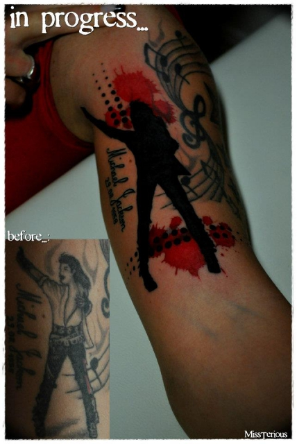 Michael Jackson Cover UP