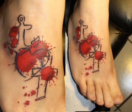 glaube liebe hoffnung-Tattoo: glaube liebe hoffnung