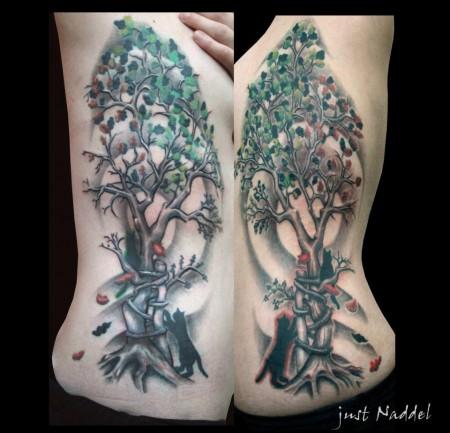 lilo lottermoser schwestern b ume tattoos von tattoo. Black Bedroom Furniture Sets. Home Design Ideas