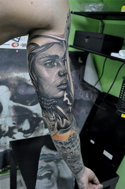 indianer-Tattoo: ...