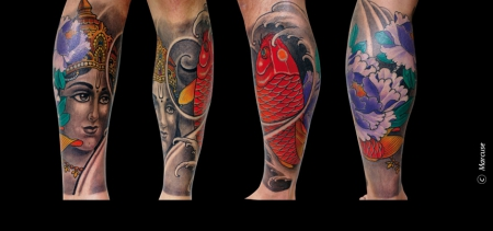 Tattoos by Marcuse @Smilin' Demons Tattoo Mannheim