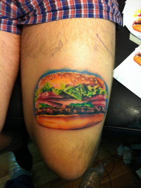 Whopper, :)) Tat by Constantin, Constantin Ink Dresden