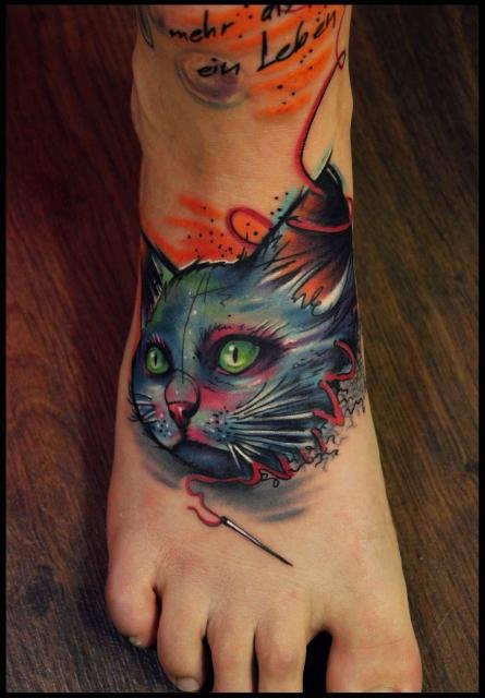 gaboa-Tattoo: Cat