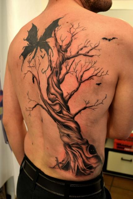 baum-Tattoo: Baum