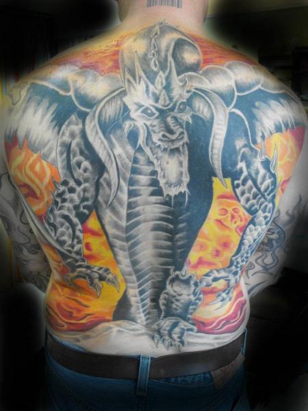 doc mc coy drache tattoos von tattoo. Black Bedroom Furniture Sets. Home Design Ideas
