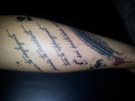 tatto meines Freundes
