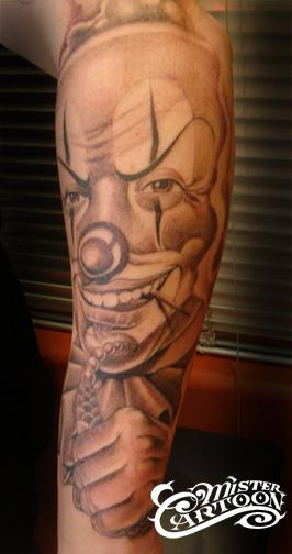chicano bein tattoo clown tattoos von tattoo. Black Bedroom Furniture Sets. Home Design Ideas